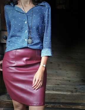 Camisa com saia